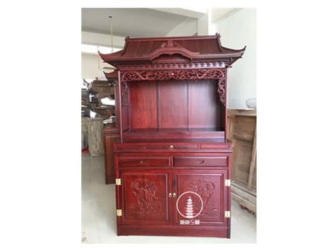 木质家用佛龛