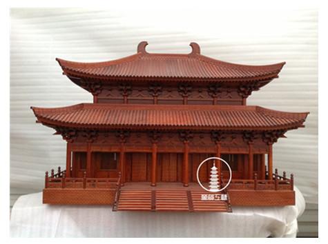 宫殿古建筑模型
