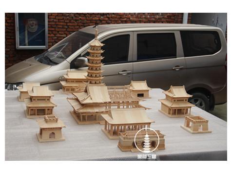 木质沙盘模型