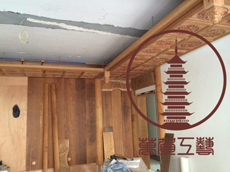 木质雕刻寺庙装修