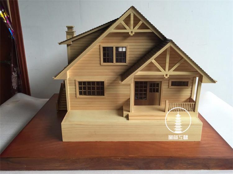 中外木屋模型